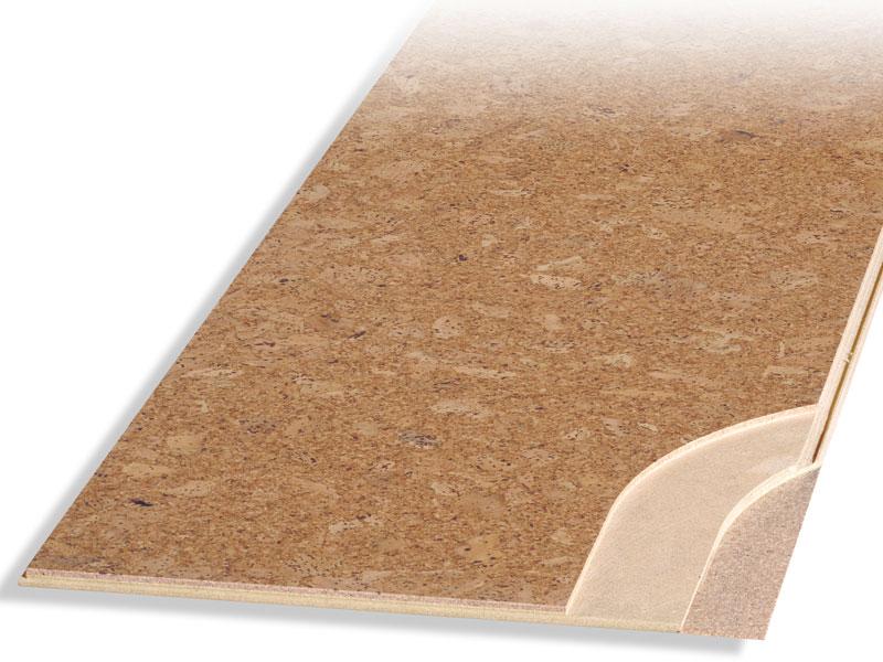 Korková plovoucí podlaha Fix 10 mm