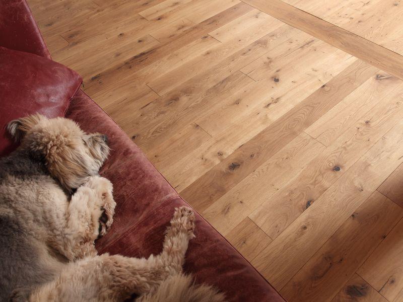 3001 Masivní podlaha Dub rustikální surová 20 mm