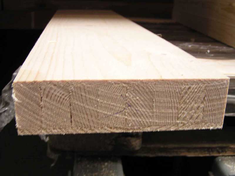 smrkový vnitřní dveřní fríz 42 x 145 mm  A/A