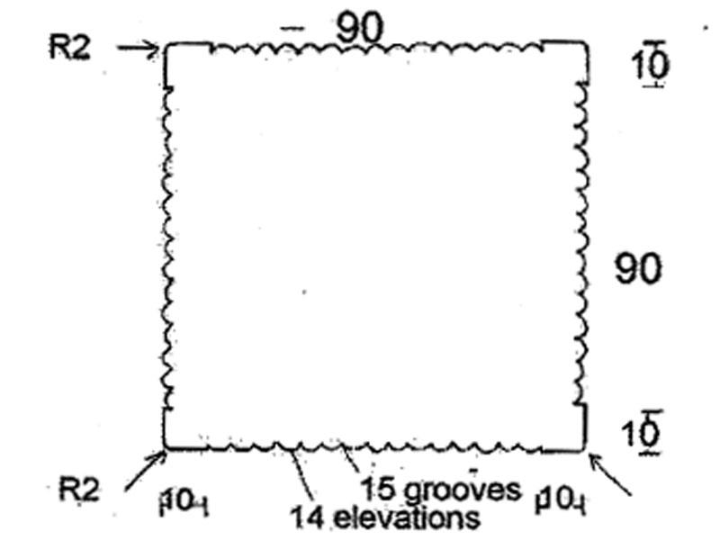 bangkirai konstrukční hranol 90 x 90 mm