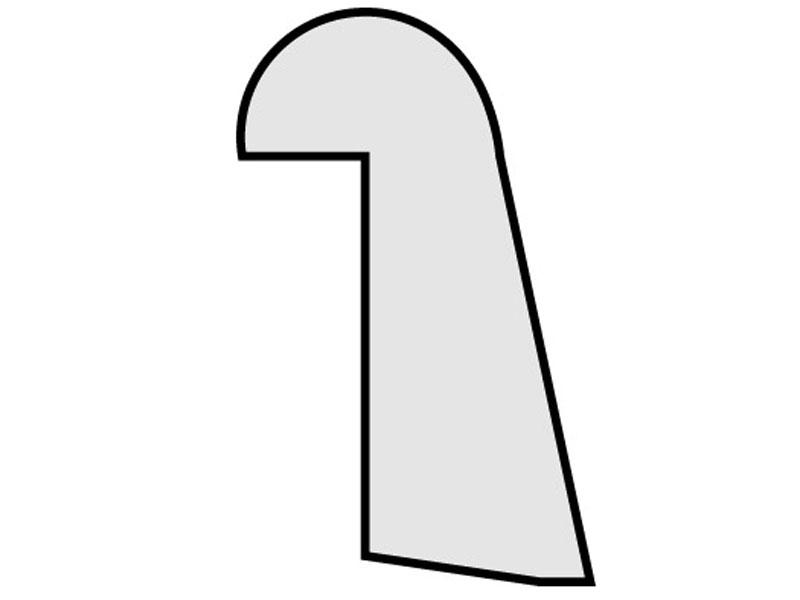 G zasklívací líšty CePaL Authentic Bianco