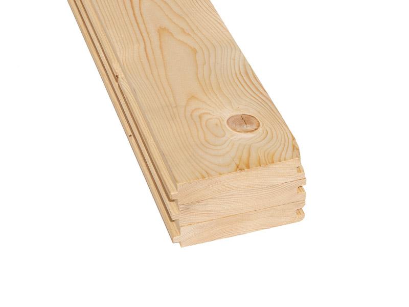 sev. smrk podlahové prkno 28,5 x 146 mm