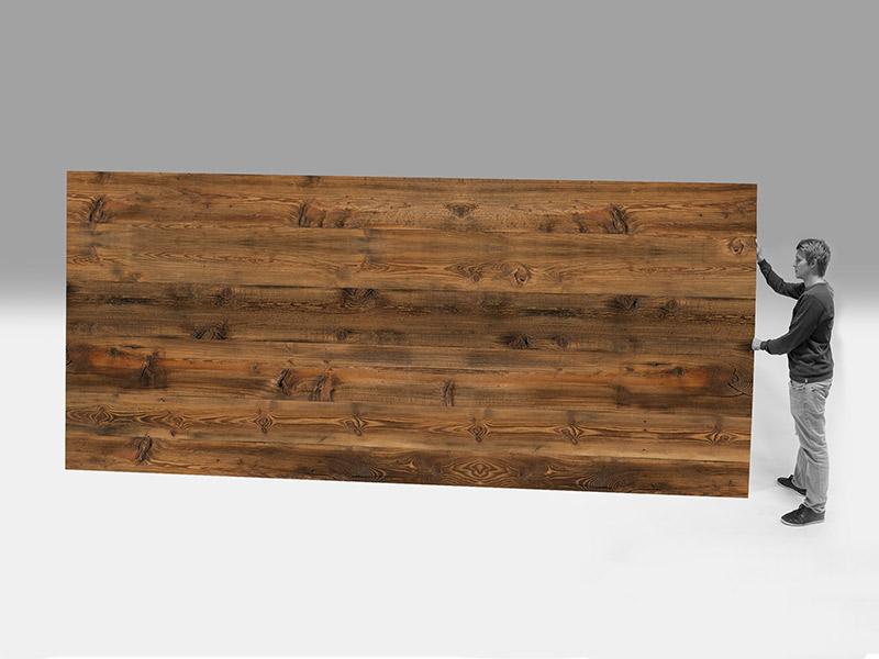 19 mm smrk, 3vrstvá biodeska, optika starého dřeva