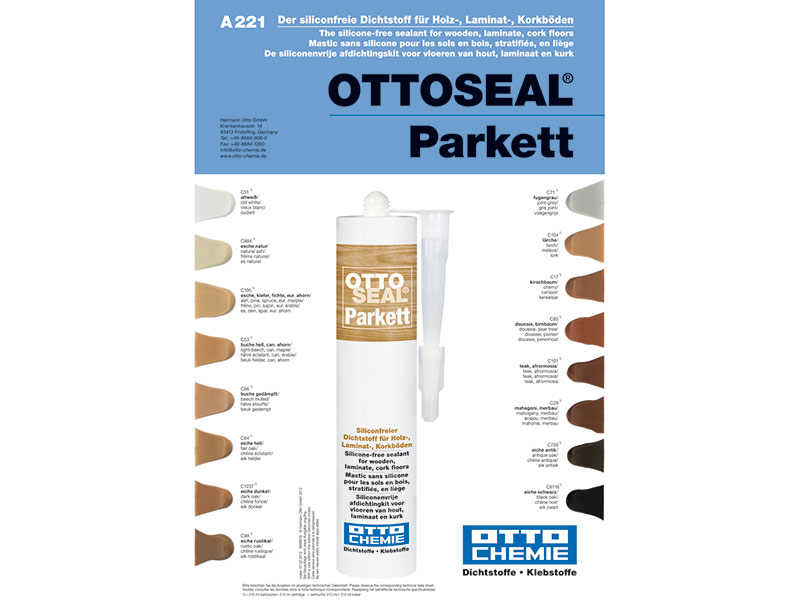 Ottoseal Parketový tmel 310 ml