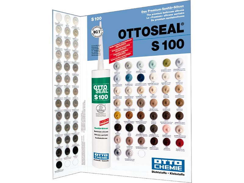 Ottoseal S 100 Premium Sanitární Silikon 300 ml