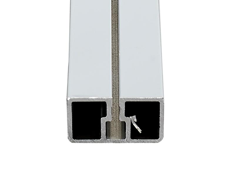 Systémový profil als UK 22,5 x 40 mm, 4 m délka