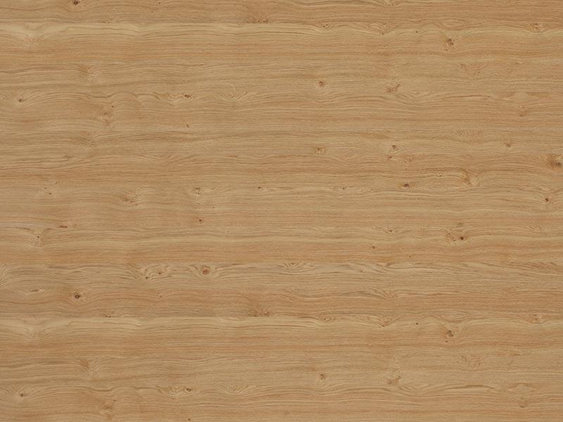 19 mm dřevotříska, dýha dub, malé suky