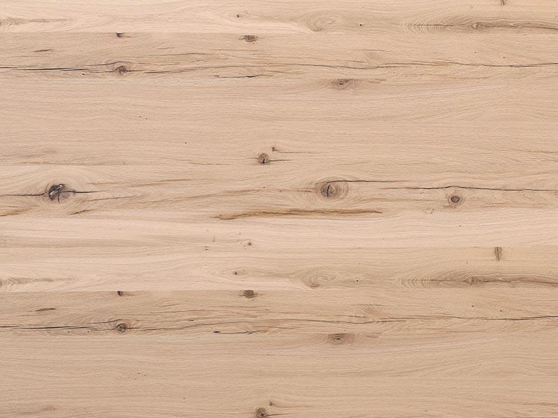 19 mm Balkeneiche natur furnierte Spanplatte