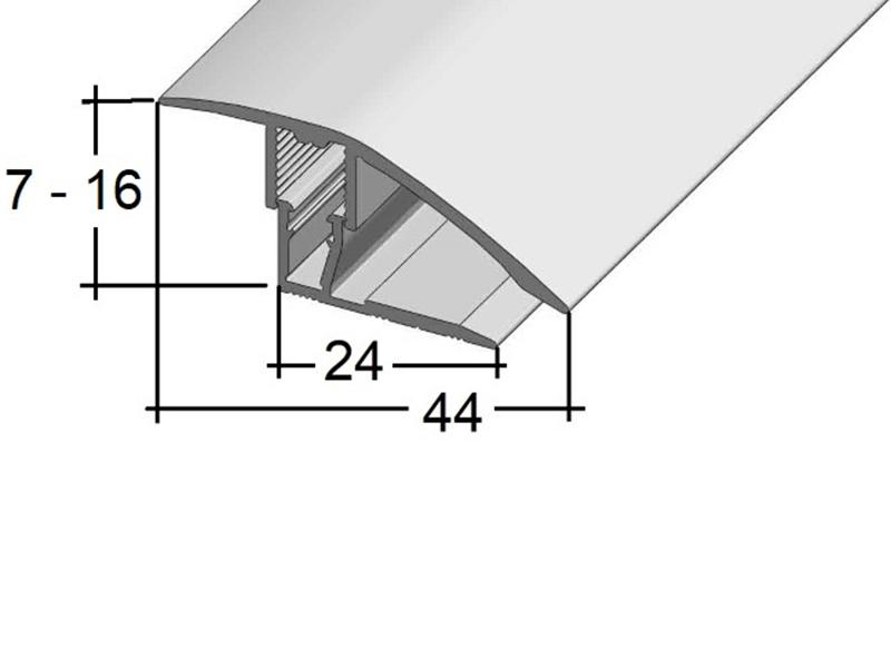 vyrovnávací profil Sonclick 8272 (7 - 16 mm) Clip