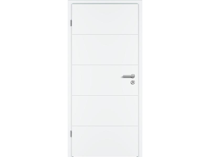 G Profilové dveře model RIVA RI 1, bílý lak